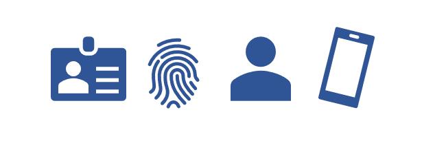 identification icons